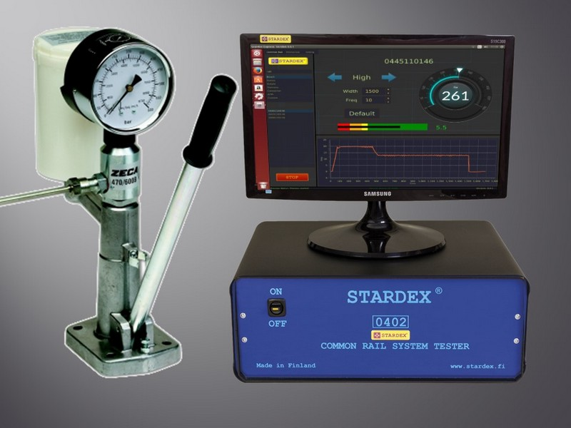 STARDEX 0401 COMMON RAIL INJECTOR TESTER