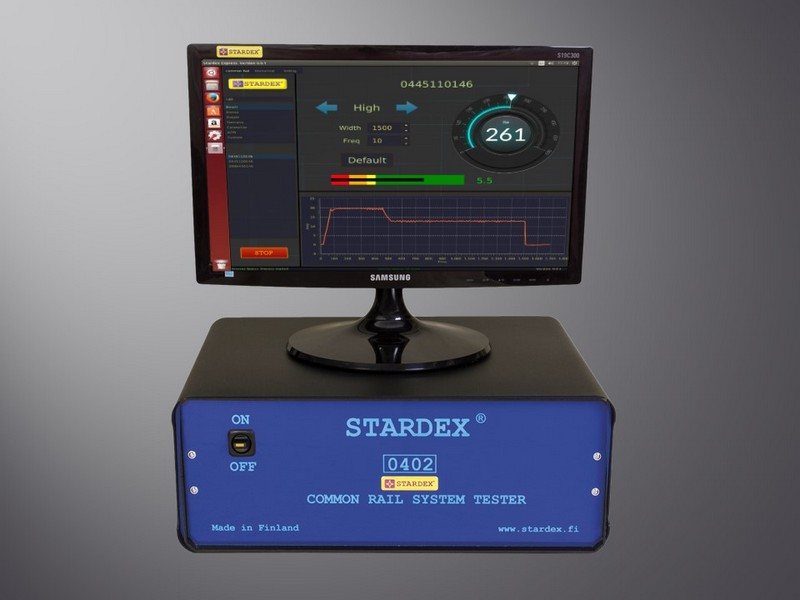 STARDEX 0403 COMMON RAIL INJECTOR TESTER
