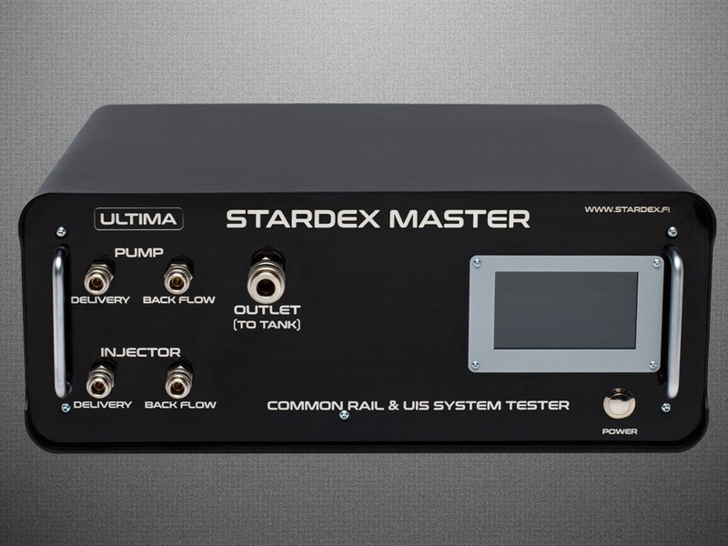 Stardex Common Rail diesel test equipment